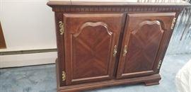 Wood Bar/Cabinet - Hinged Top https://ctbids.com/#!/description/share/120670