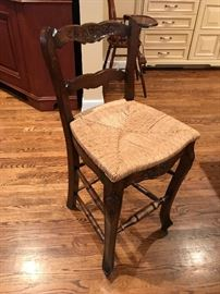Bar height stools set of 4