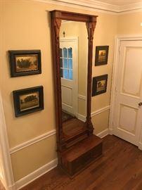 Beautiful antique Eastlake style pier mirror.