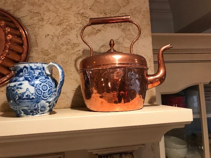 Vintage copper items