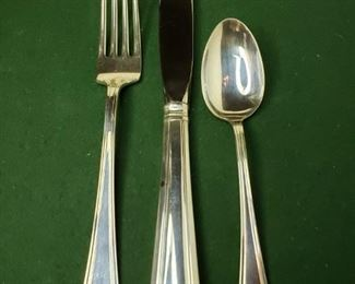 003 Gorham Sterling Flatware 6 Settings
