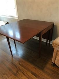 #7	gate leg dining table 46x27-68x30	 $175.00