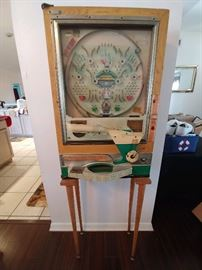 Vintage Pachinko game