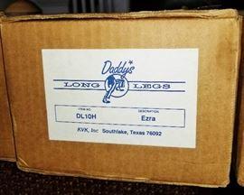 "Daddy's Long Legs ""Ezra"" in the box"