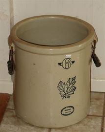 Western Stoneware 6 gallon crock