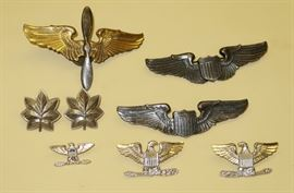 Sterling Military Pins