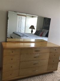 Mid Century Harmony House Dresser & Mirror