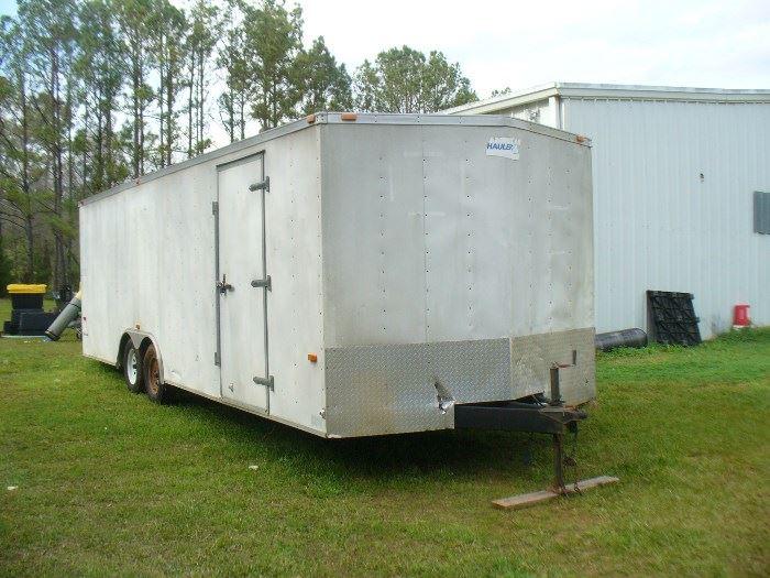 "American Hauler Night Hawk  24"" enclosed auto hauler"