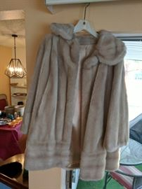 Fur coat, vintage, in excellent condition. By Tissavel of France.