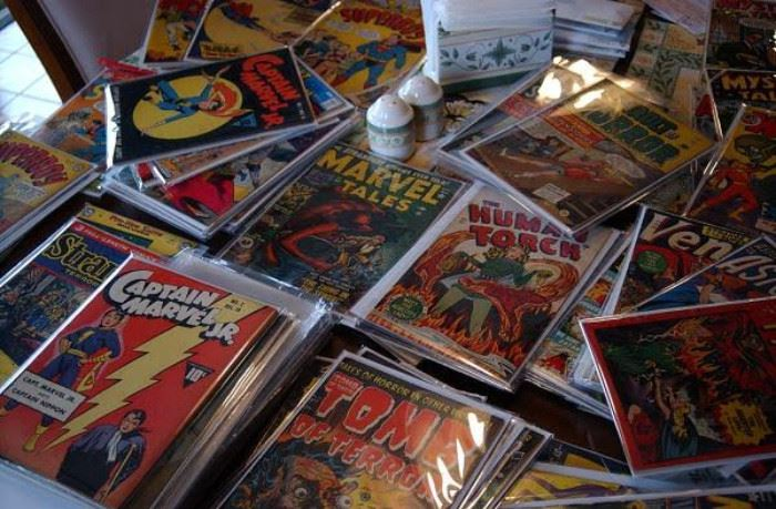 20,000 comics all marvel and dc mint comics