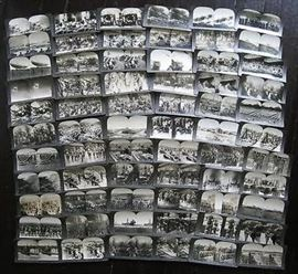 1400 stereoviews and 5000 8x10 press photos