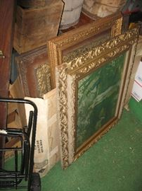 Large and small frames.