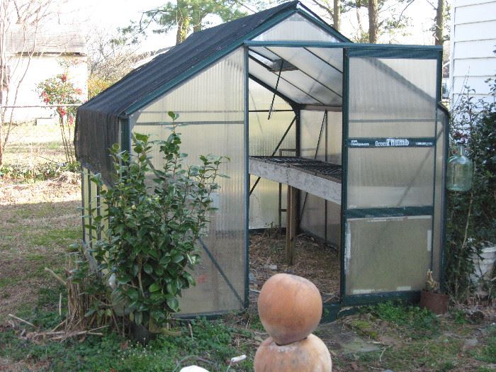A greenhouse that you would need to disassembled to move.