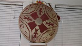 Native American drum