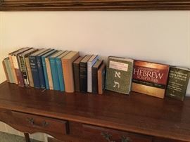 Some of the collection of lexicons and reference material