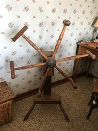 Primitive Antique Wood Yarn Winder