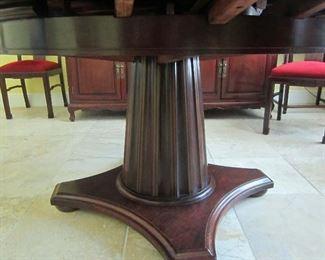 Tables pedestal base
