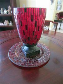 Decorative glass accessory