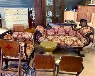 Enjoyable Antique Vintage Mid Century Modern Furniture Starts On Theyellowbook Wood Chair Design Ideas Theyellowbookinfo