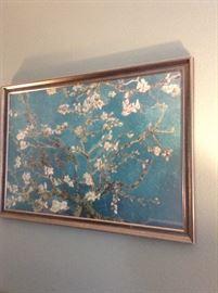 Van Gogh framed print