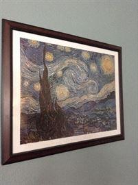 Van Gogh famed print