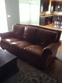 Haverty's Leather Sofa