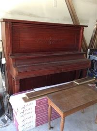 Harvard Upright Piano         Free to a good home. Must pick up by Sunday , March 24.