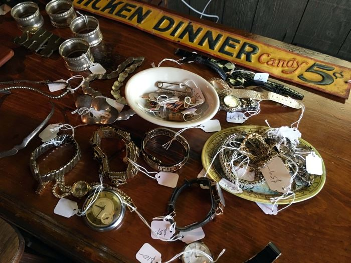 Timepieces and Costume Jewelry