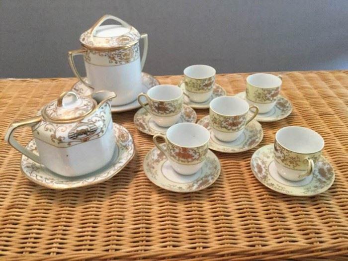 Gold and Cream Tea Set https://ctbids.com/#!/description/share/121008