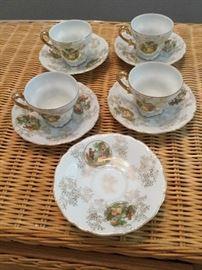 Four Tea Cups and Six Saucers     https://ctbids.com/#!/description/share/121010