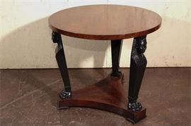 6. Empire Style Center Table