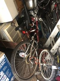 Schwinn unicycle and many other bikes.