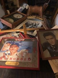 Baseball frames prints