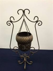 Metal Decor, Acorn Hanging Tea light Holder