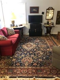 Hand Woven Kashan Rug made in Iran.  1930's