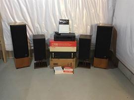 Amplifier and Speaker