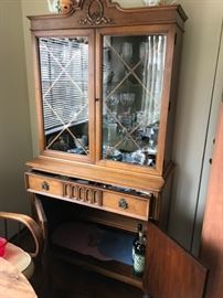 Beautiful smaller size hutch can fit anywhere