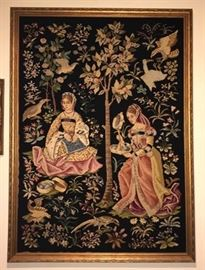 4FT GERMAN EMBROIDERY $150