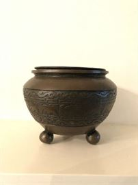 Bronze Footed Bowl