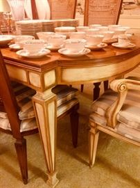 Fine Dining Table and Six Chairs