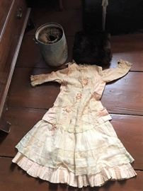 Vintage and Antique Clothing found in a trunk
