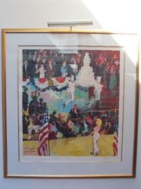 Leroy Nieman 'The President's Birthday Party 1692' signed and numbered