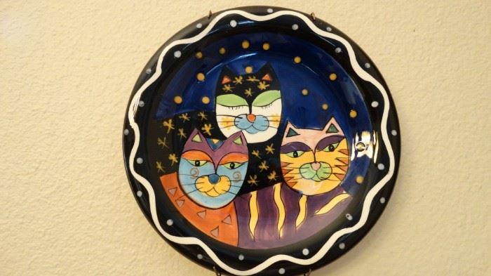 MPRESSIONS ART CAT PLATE