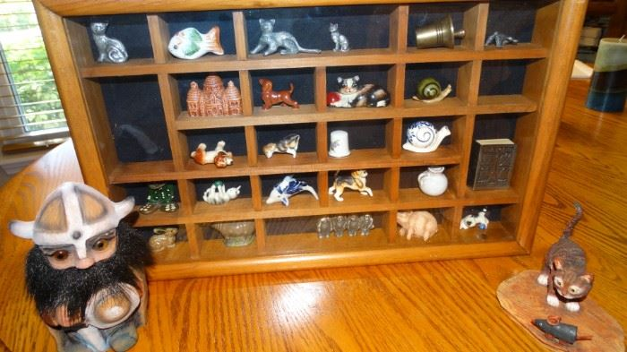 MINIATURE CABINET & COLLECTION