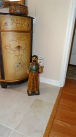 ST. FRANCIS CARVED WOODEN STATUE