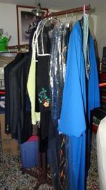 EVENING GOWNS, JACKETS, DRESSES & MEN'S SUIT & JACKET