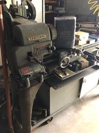 sold as unit  w/ all the accessories that are in it  U move it !!FABULOUS LATHE-CRAFTSMAN -