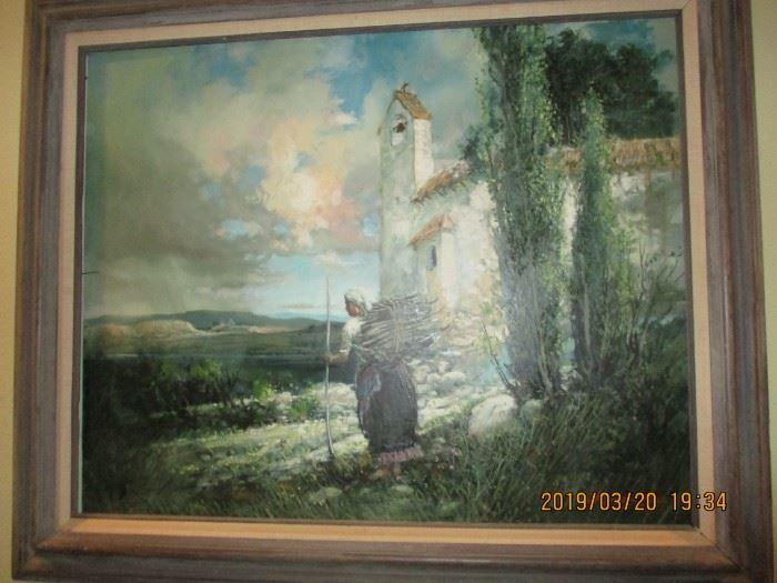 Ramon Rice 78 Painting