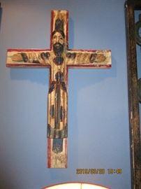 Wood Carved Crucifix