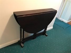 Gate Leg Narrow Table